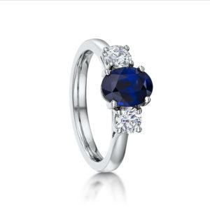 Gemstone Set Rings