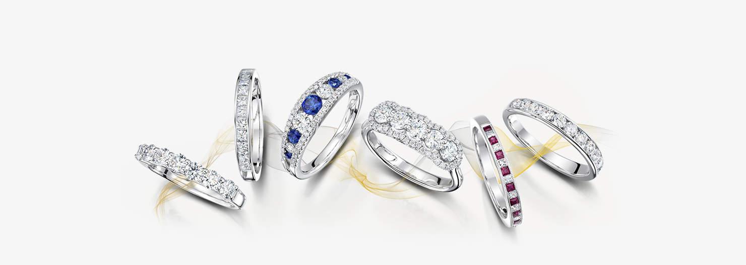 JID Gemstone Rings Slider